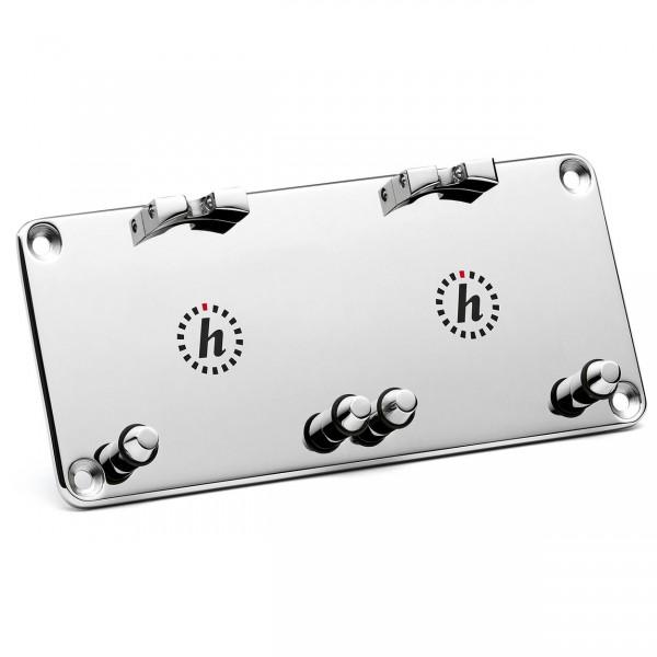 Dashboard Platte für zwei Uhren